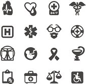 Mobico icons - Medical Symbols
