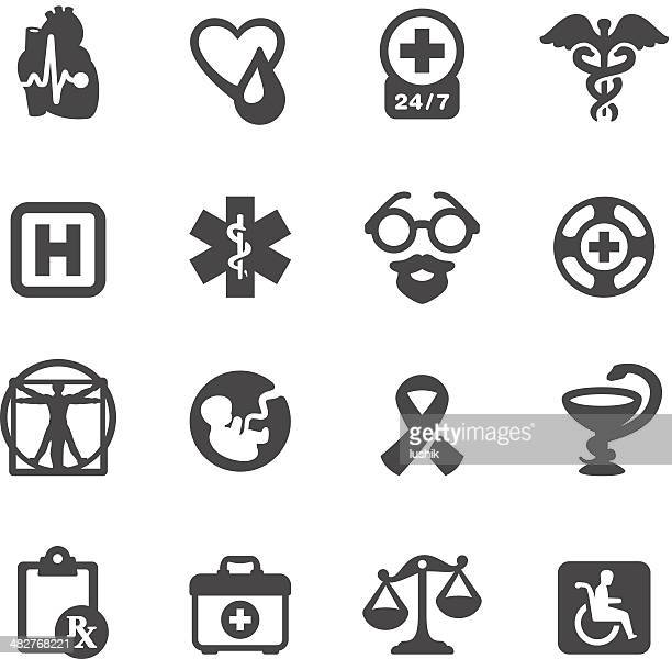 mobico icons - medical symbols - animal fetus stock illustrations, clip art, cartoons, & icons