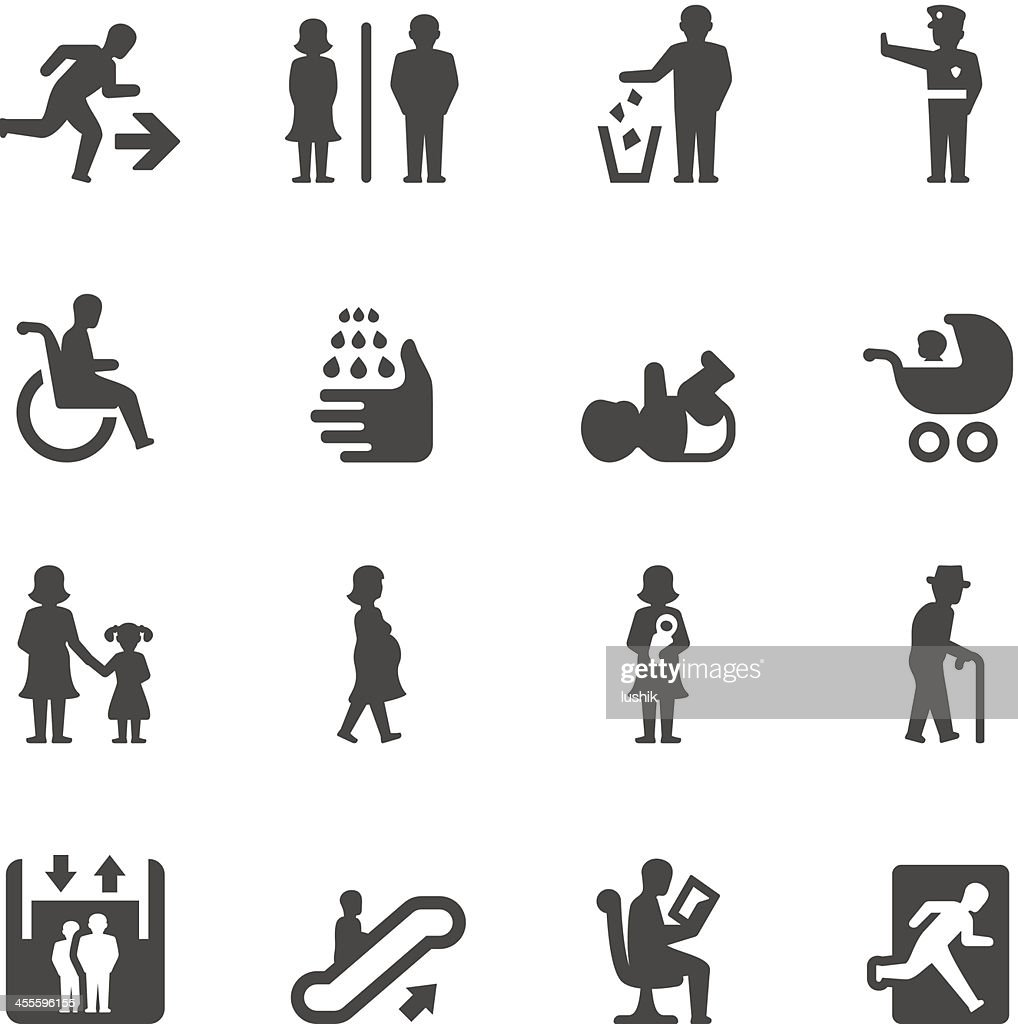 Mobico icons — Public places