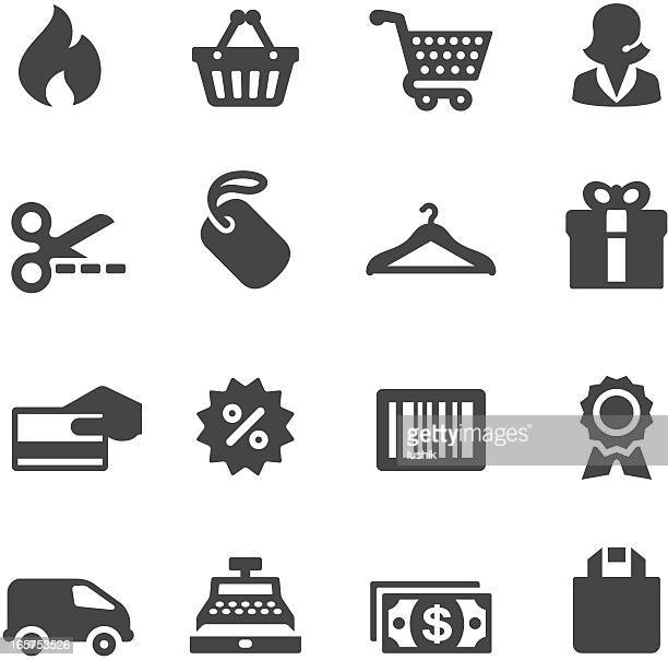 mobico icons — shopping - card reader stock illustrations, clip art, cartoons, & icons