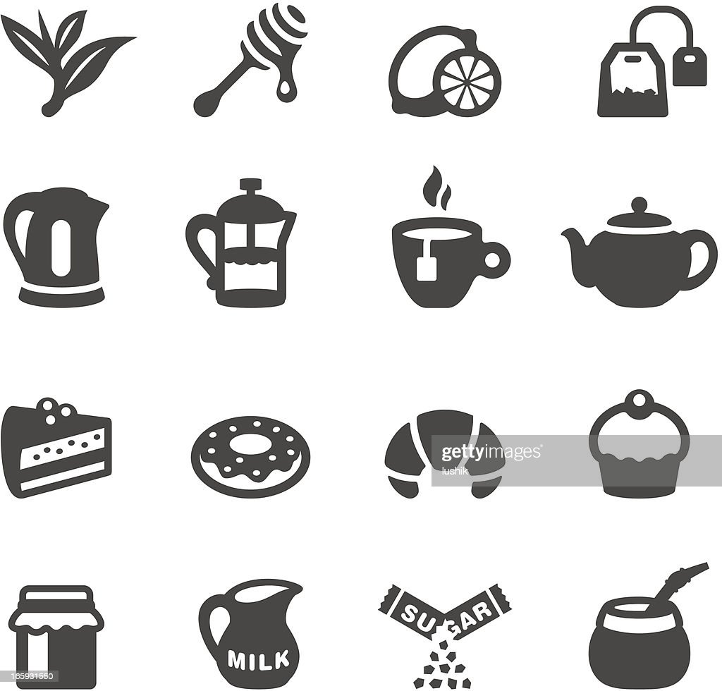 Mobico icons - Tea : Stock Illustration
