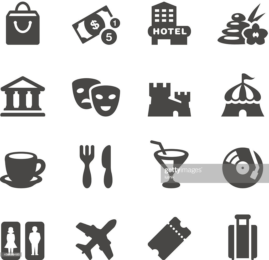 Mobico icons - Travel and Leisure