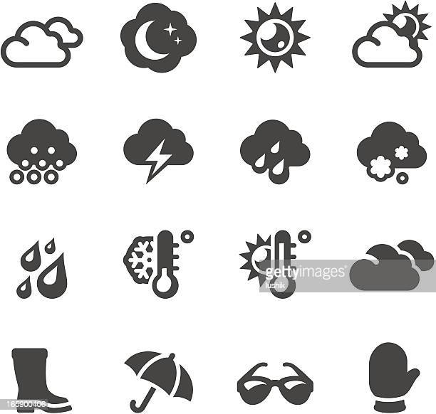 mobico icons - weather - day stock illustrations, clip art, cartoons, & icons