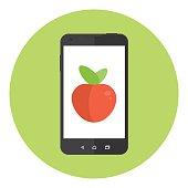 Mobile Apple Fruit