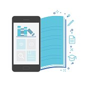 Mobile Application Interface, Bookstore