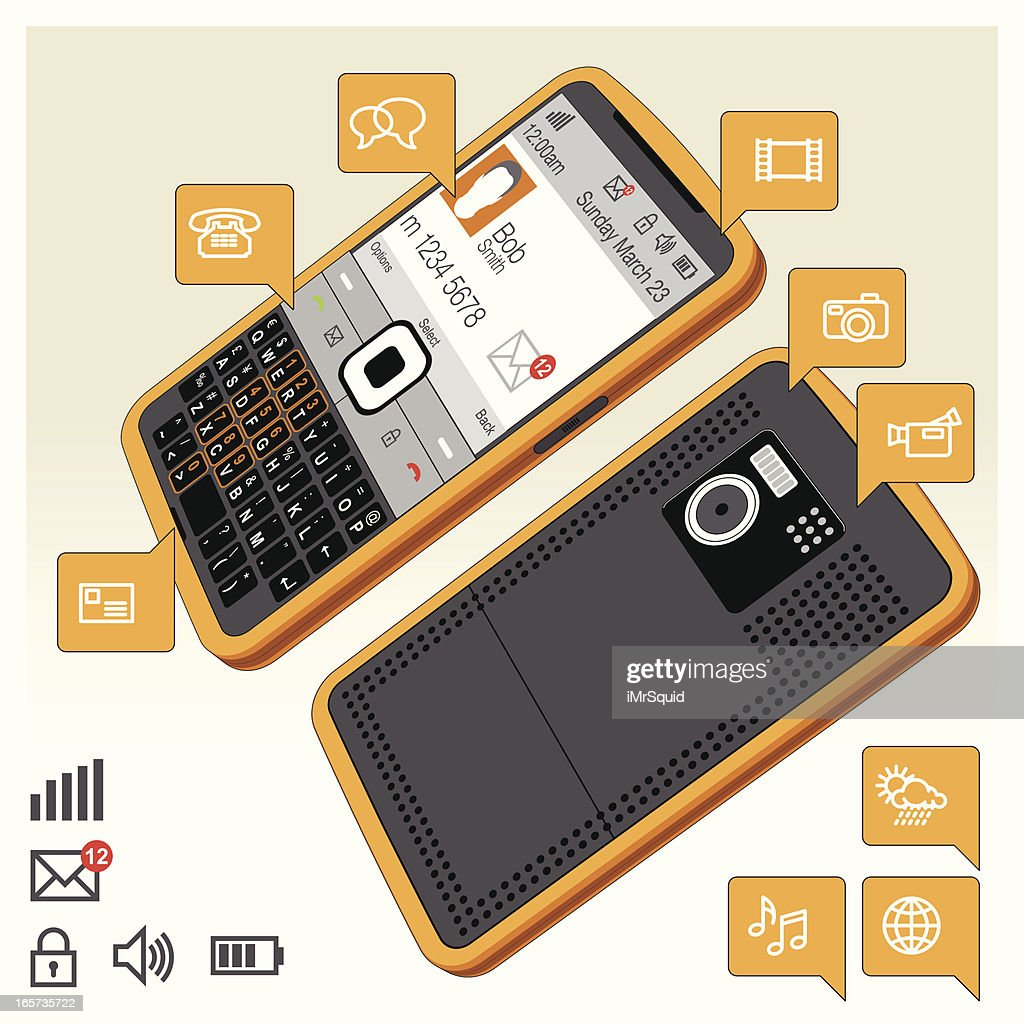 Mobile / Cell Phone Functionality - SmartPhone Orange