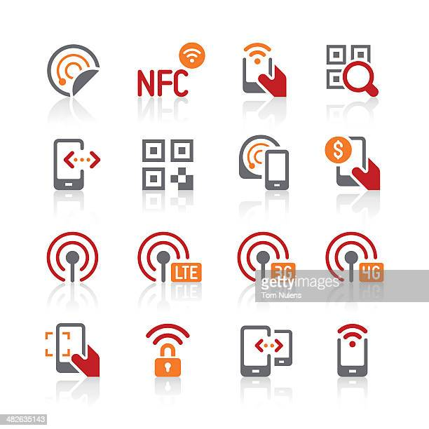 mobile data and communication icons | alto series - bar code reader stock illustrations, clip art, cartoons, & icons