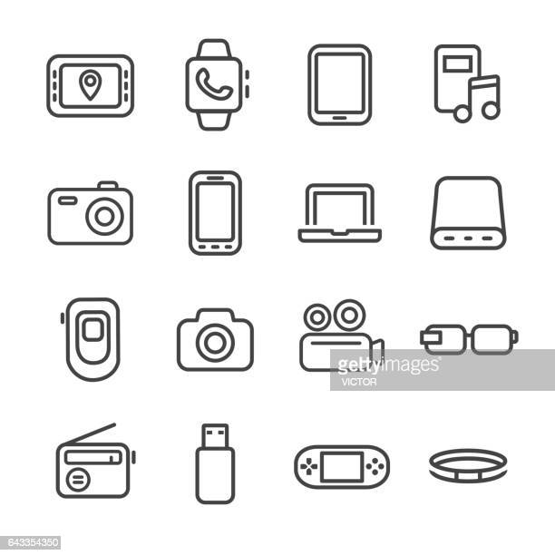 Mobile Devices Icon Set - Line Series