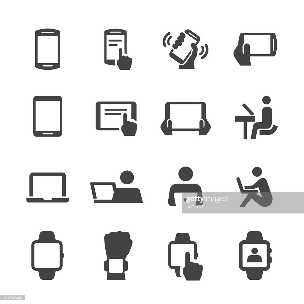 Mobile Devices Icons - Acme Series
