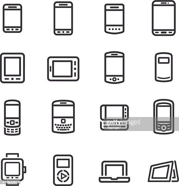 Mobile Devices Icons - Line Series