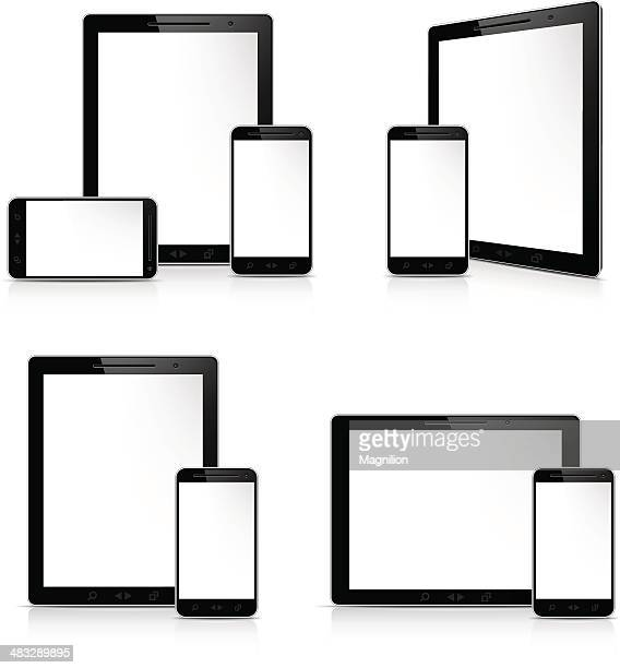 Mobile devices, tablet pc and smartphone