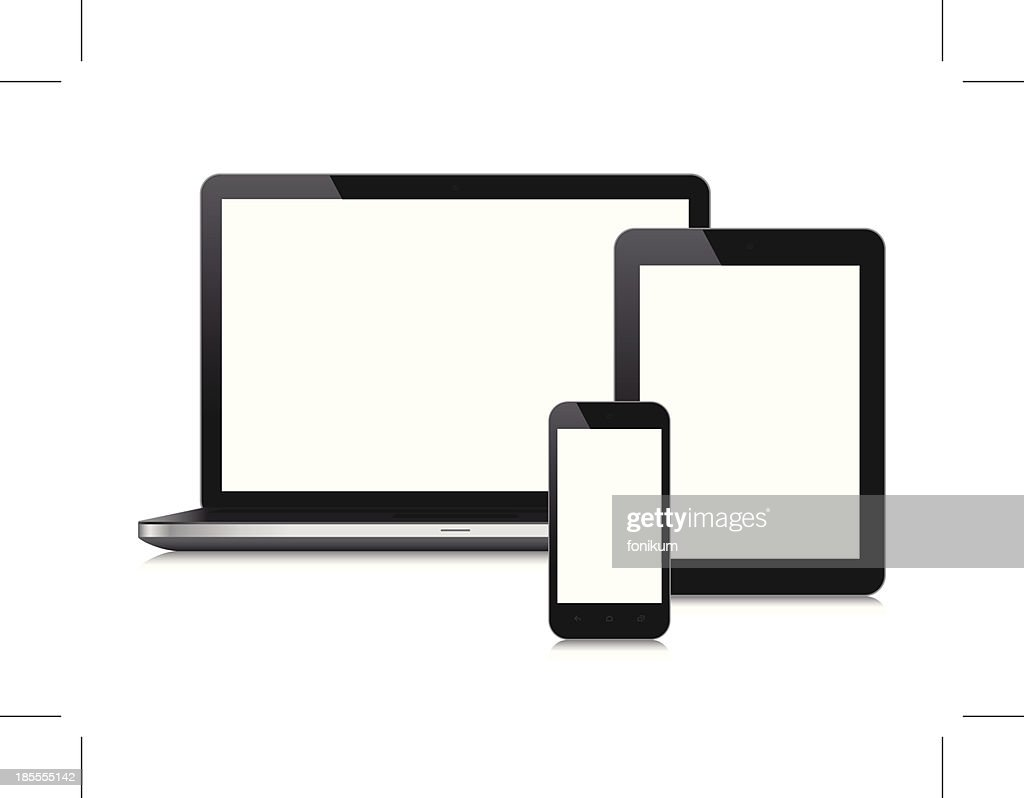 Mobile Devices with blank screen