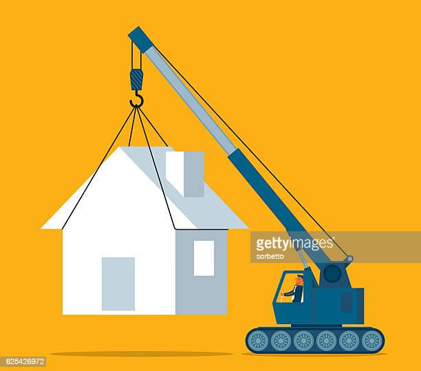 mobile home - new home stock illustrations, clip art, cartoons, & icons