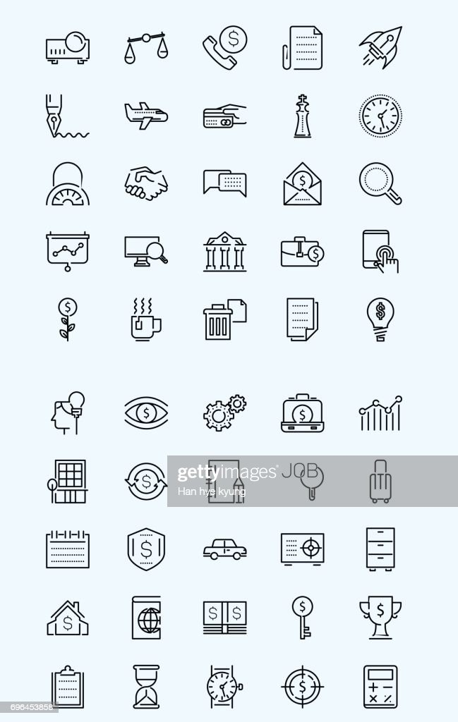 Mobile Icon - Business