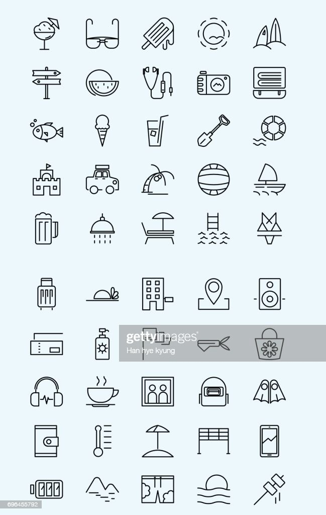Mobile Icon - Summer