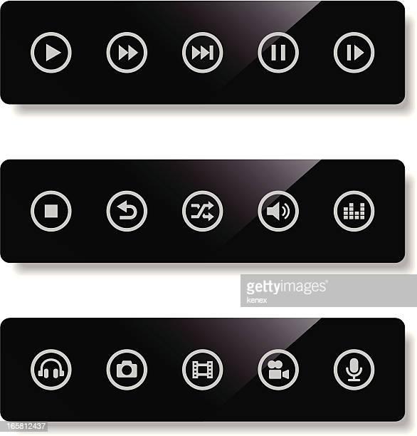 Mobile Icons Set   Media