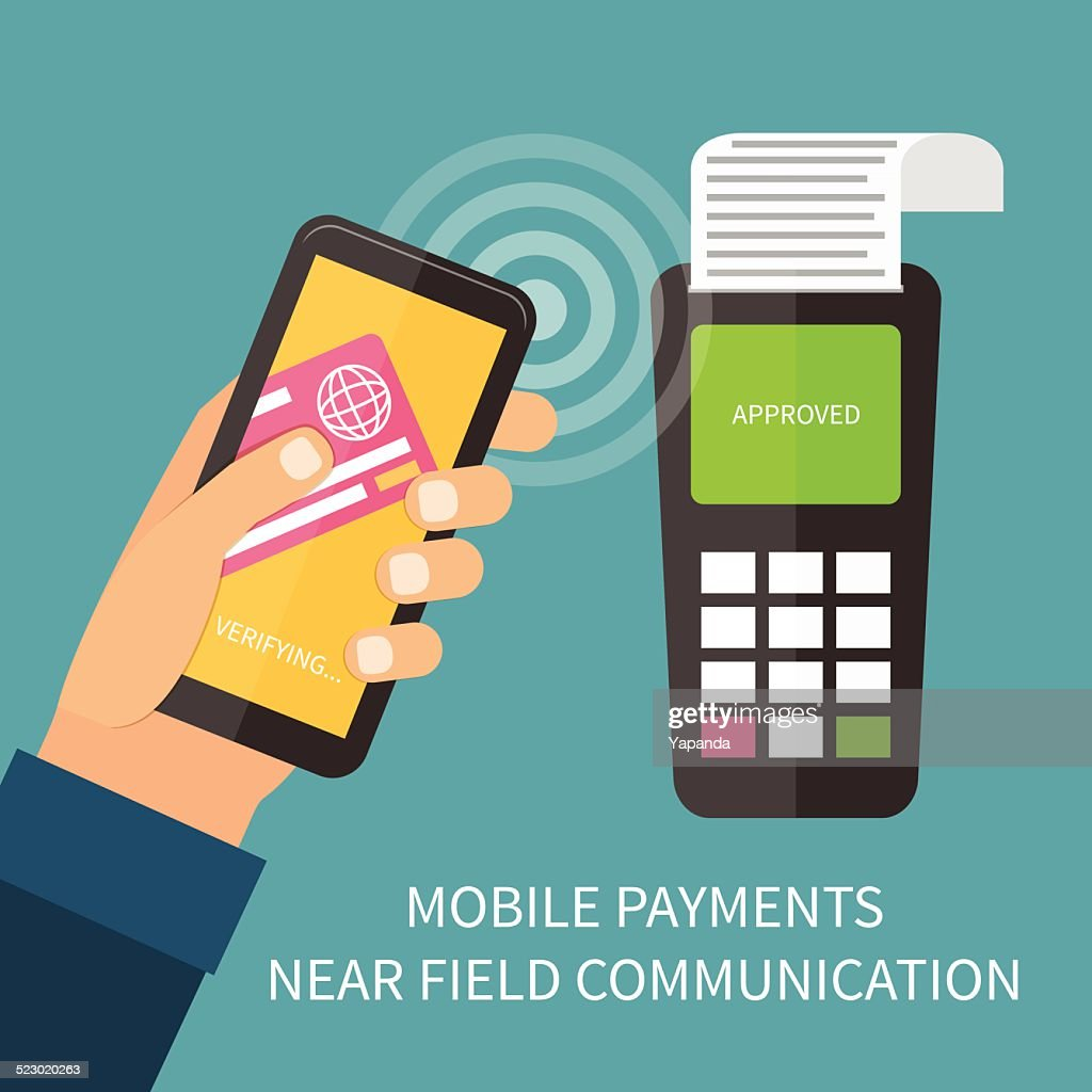 Mobile payment using smartphone, nfc, online banking.