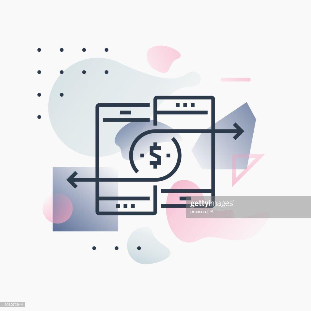 Mobile Payments Futuro Illustration