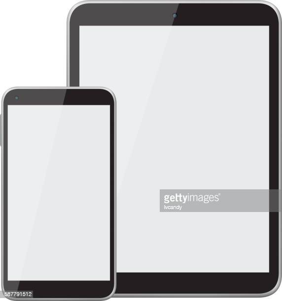 Mobile phone and tablet computer