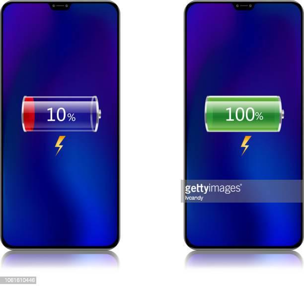illustrazioni stock, clip art, cartoni animati e icone di tendenza di mobile phone charging - attaccante