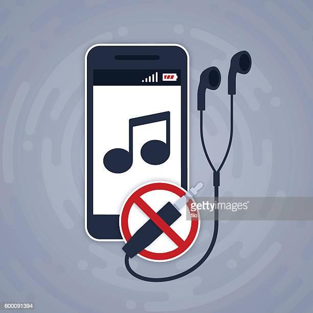 Mobile Phone Music Headphone Jack