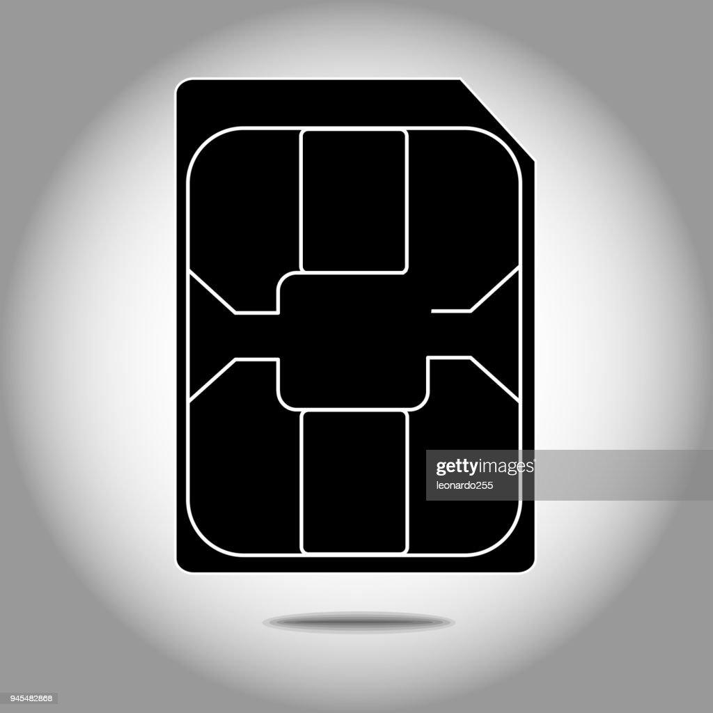 Mobile phone nano sim card