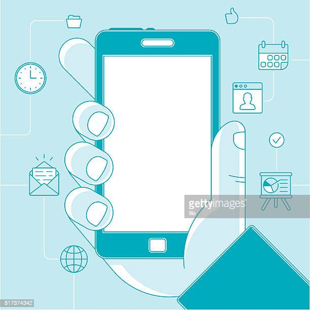 Mobile Phone Productivity and Business