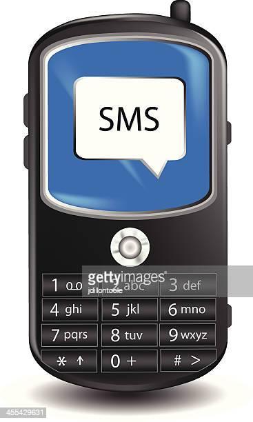 handy/sms - electronic organizer stock-grafiken, -clipart, -cartoons und -symbole