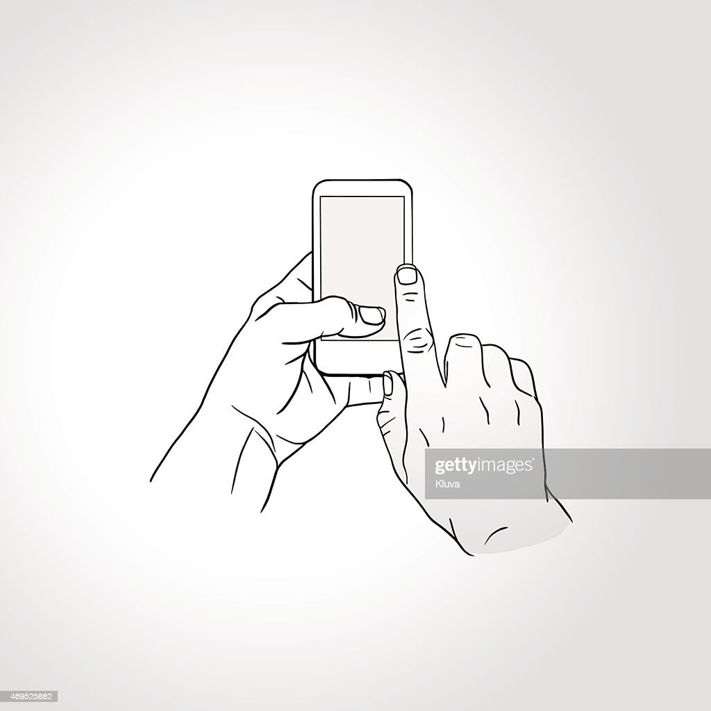 Mobile phone touch gestures