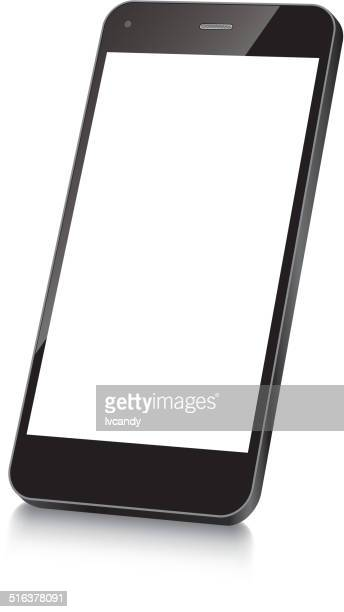 mobile phone - model stock illustrations