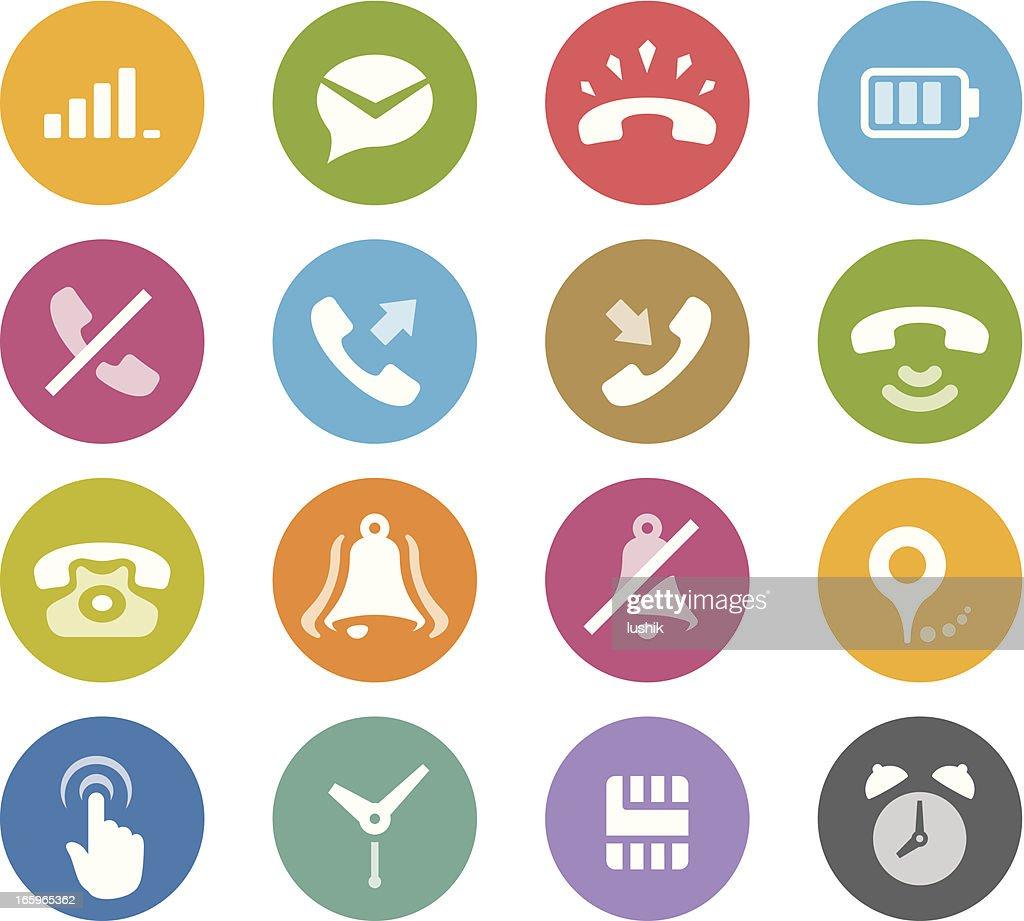 Mobile Phone / Wheelico icons