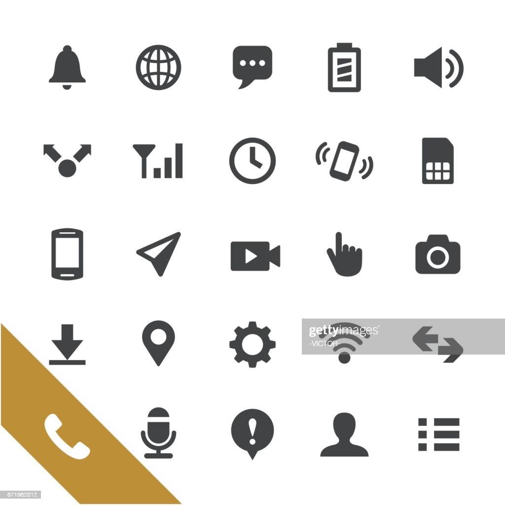 Mobile Telecom Icons - Select Series