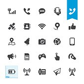 Mobile Telecom vector icons