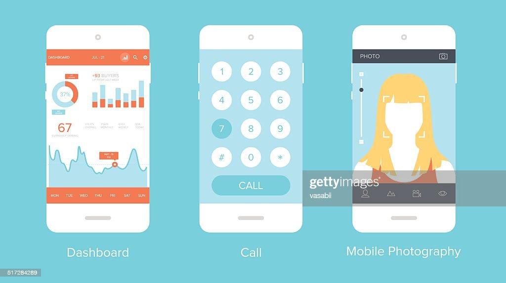 Mobile UI.