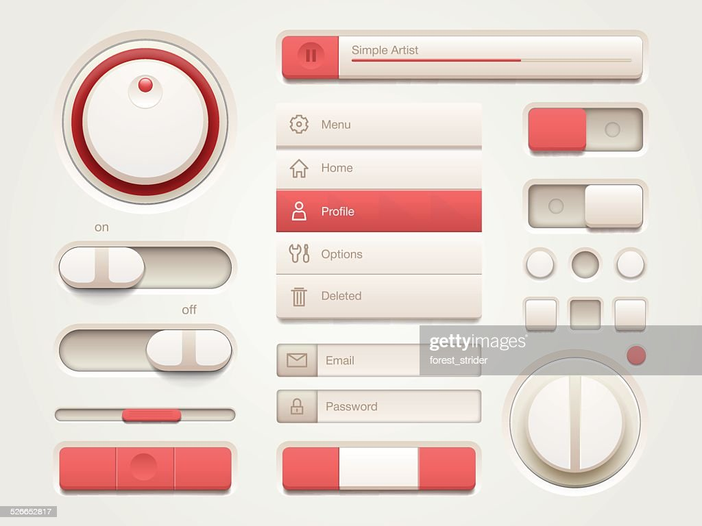 Mobile User interface set