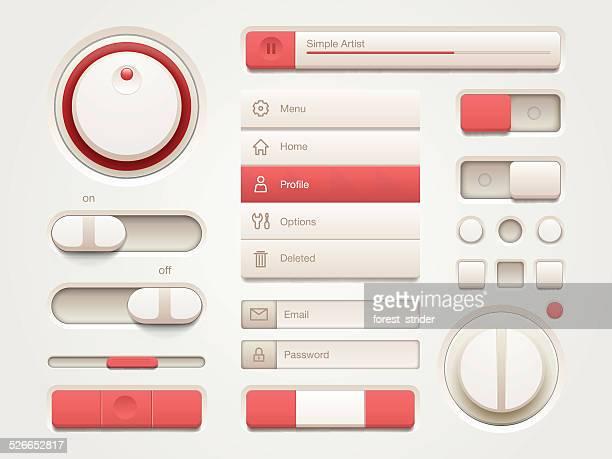 ユーザーインターフェースの設定 - gui点のイラスト素材/クリップアート素材/マンガ素材/アイコン素材