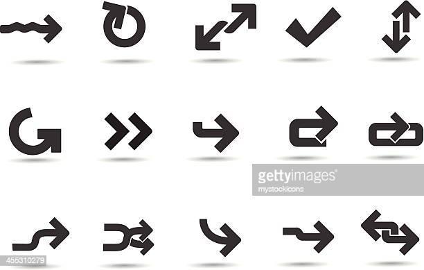 Mobilicious Modern Arrow Icons