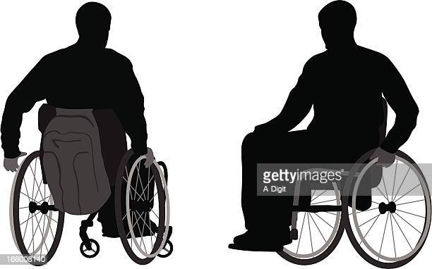 mobility - disability stock illustrations, clip art, cartoons, & icons