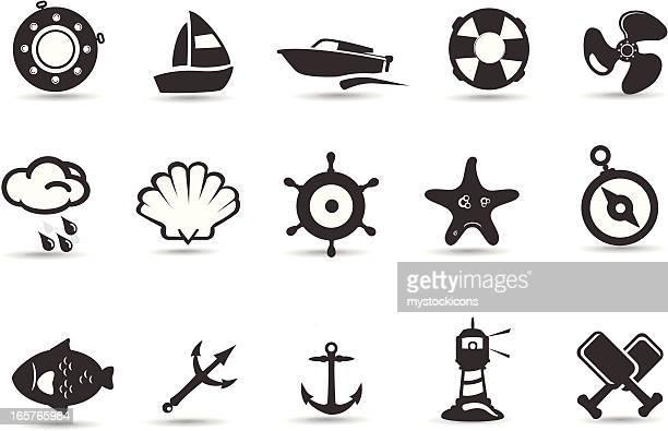 Mobilivious Nautical and Sea Icon Set