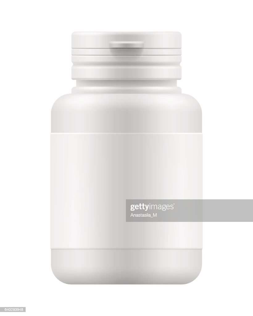 mock-up container for medication