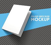 Mockup on transparent background. Vector Illustration.