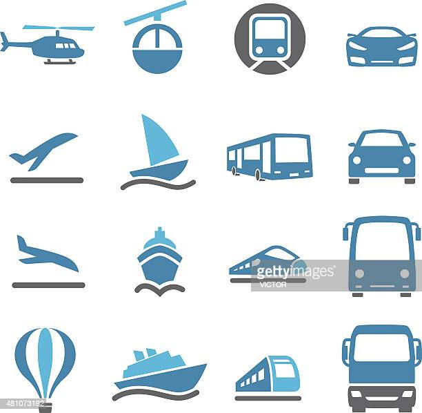 Mode of Transport Icons - Conc Series