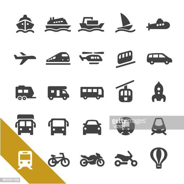 Mode of Transport Icons - Select Series