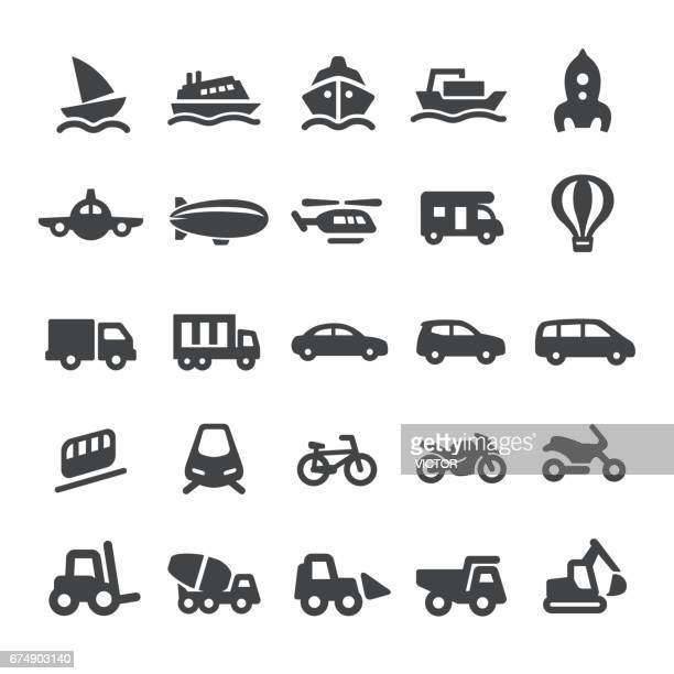 Mode of Transport Icons - Smart Series