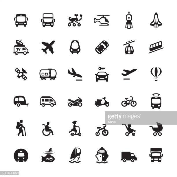 Mode of transport - Ultimate icons pack