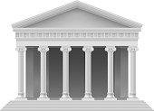3D model of a roman coliseum building