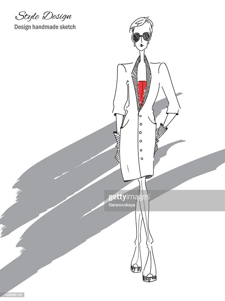 Model-Black-Elegant