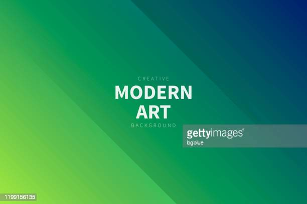 illustrazioni stock, clip art, cartoni animati e icone di tendenza di sfondo astratto moderno - sfumatura verde - colore verde
