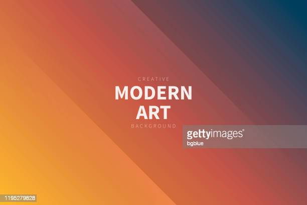 modern abstract background - orange gradient - brown background stock illustrations
