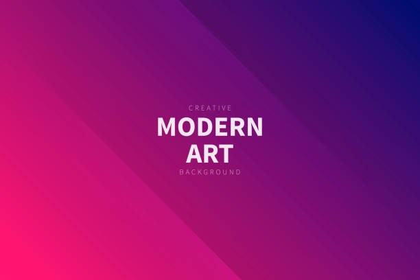 modern abstract background - pink gradient - pink stock illustrations